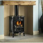 hamco glenbarrow 6kw brown or black enamel